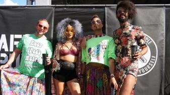 AfroPunk Paris 2017 - Day 2 - 2 - Emery Augusto Emmie Reek Magá Moura